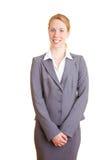 Weibliche Empfangsdame Lizenzfreies Stockbild