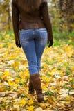 Weibliche Füße schließen oben Lizenzfreie Stockfotografie