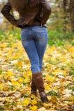 Weibliche Füße schließen oben Lizenzfreie Stockfotos