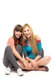 Weibliche Freunde Stockfotografie
