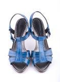Weibliche Fußbekleidung Stockbilder