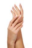 Weibliche Hände Lizenzfreie Stockfotos