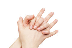 Weibliche Hände Stockbilder