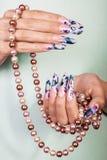 Weibliche Hände Stockbild