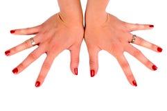 Weibliche Hand Stockfotografie