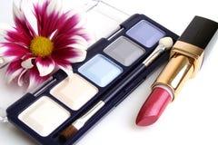 Weibliche Kosmetik Lizenzfreies Stockbild
