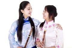 Weibliche Musiker Stockbild