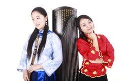 Weibliche Musiker lizenzfreie stockbilder