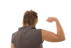 Weibliche Muskeln Lizenzfreie Stockfotos