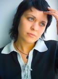 Weibliche Probleme lizenzfreie stockfotografie