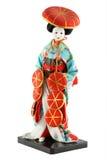 Weibliche Puppe von Japan Lizenzfreie Stockfotografie