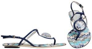Weibliche Sandalen Lizenzfreies Stockfoto