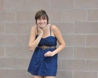 Weibliche Schönheitsausdrücke der Plusgröße lizenzfreie stockfotos