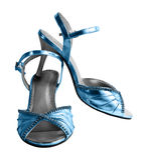 Weibliche Schuhe stockfotografie