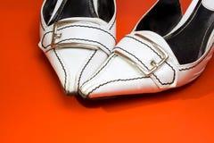 Weibliche Schuhe Lizenzfreies Stockfoto