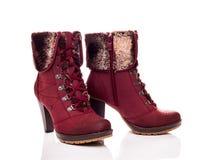 Weibliche Stiefel Lizenzfreies Stockfoto