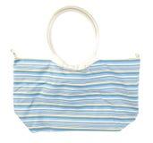 Weibliche Strandhandtasche   Getrennt Stockbilder