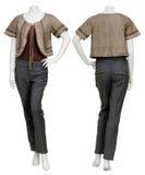 Weibliche Strickjacke auf Mannequin Lizenzfreies Stockfoto