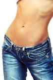 Weibliche Taille Lizenzfreies Stockbild