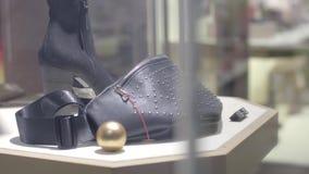 Weibliche Taillen-Tasche stock video footage