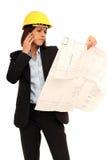 Weiblicher Architekt Lizenzfreie Stockbilder