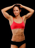 Weiblicher Athlet Lizenzfreies Stockbild