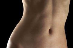 Weiblicher Bauch Stockbild