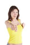 Weiblicher Boxer Lizenzfreies Stockbild