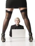 Weiblicher Chef Lizenzfreie Stockbilder