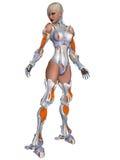 Weiblicher Cyborg Stockbilder