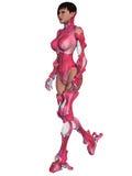 Weiblicher Cyborg Lizenzfreies Stockfoto
