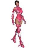 Weiblicher Cyborg Lizenzfreie Stockfotografie