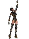 Weiblicher Cyborg Stockbild