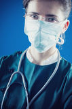 Weiblicher Doktor Lizenzfreie Stockfotografie