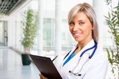 Weiblicher Doktor Stockfotografie