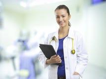 Weiblicher Doktor stockfoto