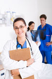 Weiblicher Doktor Stockfotos