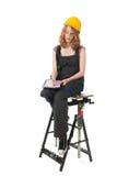 Weiblicher Erbauer Lizenzfreies Stockfoto