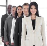 Weiblicher führender Vertreter der Wirtschaft Stockfoto