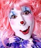 Weiblicher feenhafter Clown Lizenzfreie Stockfotos