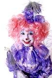 Weiblicher feenhafter Clown Lizenzfreies Stockfoto