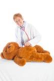 Weiblicher Kinderarzt Lizenzfreies Stockbild