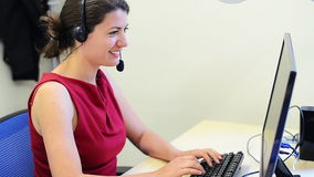 Weiblicher Kundendienst