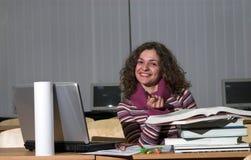 Weiblicher Kursteilnehmer Lizenzfreies Stockbild