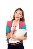 Weiblicher Kursteilnehmer Lizenzfreie Stockfotos