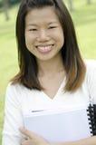 Weiblicher Kursteilnehmer-Portrait Lizenzfreies Stockfoto