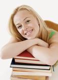Weiblicher Kursteilnehmer-Portrait Lizenzfreie Stockfotos