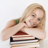 Weiblicher Kursteilnehmer-Portrait/Studie und erlernen Stockfotografie