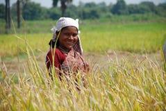 Weiblicher Landwirt lizenzfreie stockfotografie