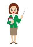 Weiblicher Lehrer Stockfotos